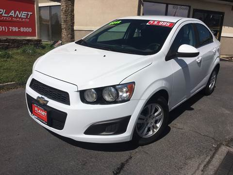 2012 Chevrolet Sonic for sale at PLANET AUTO SALES in Lindon UT