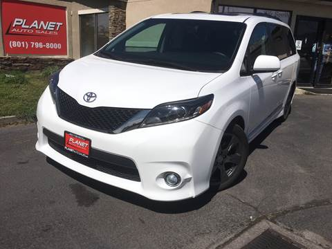 2017 Toyota Sienna for sale at PLANET AUTO SALES in Lindon UT