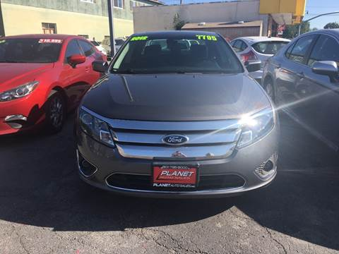 2012 Ford Fusion for sale at PLANET AUTO SALES in Lindon UT