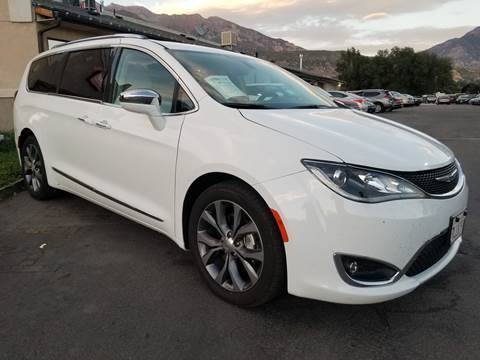 2017 Chrysler Pacifica for sale at PLANET AUTO SALES in Lindon UT