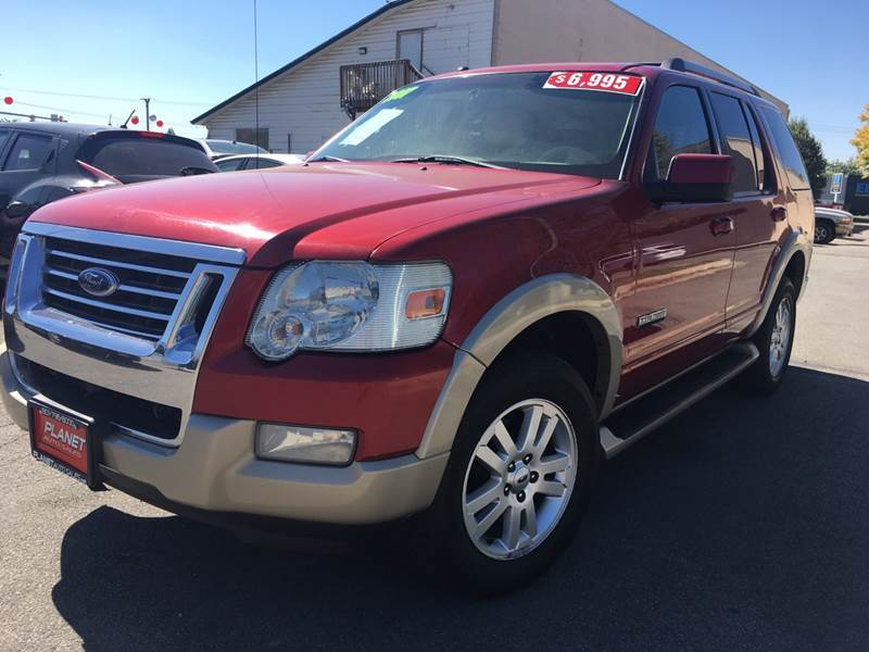 2007 Ford Explorer for sale at PLANET AUTO SALES in Lindon UT