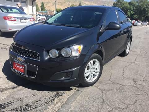 2014 Chevrolet Sonic for sale at PLANET AUTO SALES in Lindon UT