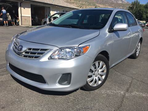 2013 Toyota Corolla for sale at PLANET AUTO SALES in Lindon UT