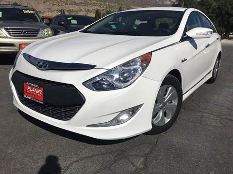 2015 Hyundai Sonata Hybrid for sale at PLANET AUTO SALES in Lindon UT