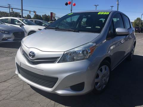 2013 Toyota Yaris for sale at PLANET AUTO SALES in Lindon UT