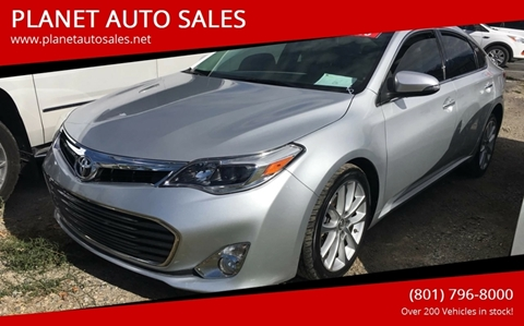 2013 Toyota Avalon for sale at PLANET AUTO SALES in Lindon UT