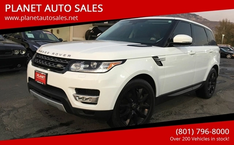 2014 Land Rover Range Rover Sport for sale at PLANET AUTO SALES in Lindon UT