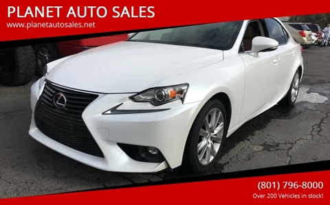 2016 Lexus IS 200t for sale at PLANET AUTO SALES- Orem in Orem UT