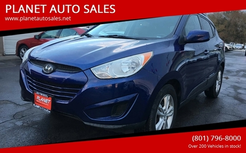 2010 Hyundai Tucson for sale at PLANET AUTO SALES in Lindon UT