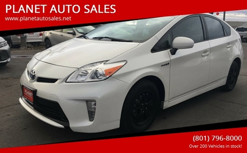 2014 Toyota Prius for sale at PLANET AUTO SALES in Lindon UT