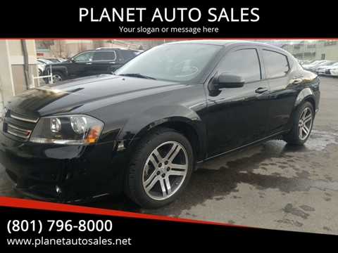 2012 Dodge Avenger for sale at PLANET AUTO SALES in Lindon UT