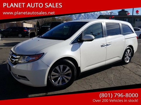 2015 Honda Odyssey for sale at PLANET AUTO SALES in Lindon UT