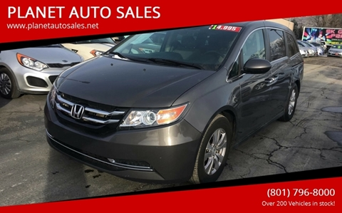 2014 Honda Odyssey for sale at PLANET AUTO SALES in Lindon UT