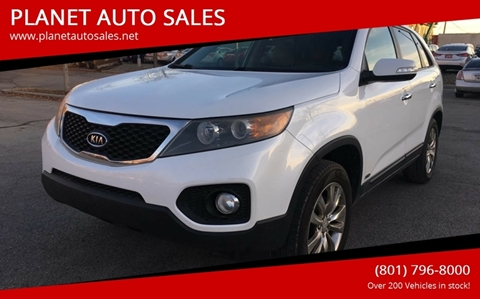 2011 Kia Sorento for sale at PLANET AUTO SALES in Lindon UT