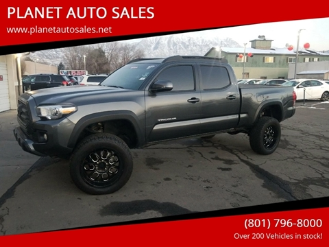 2017 Toyota Tacoma for sale at PLANET AUTO SALES- Orem in Orem UT