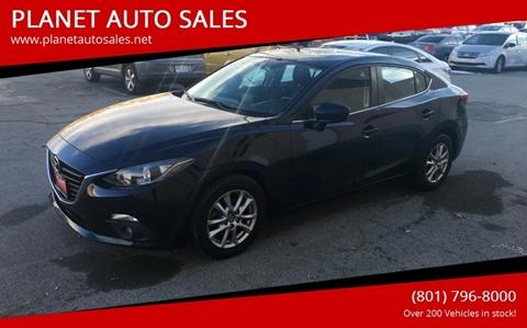 2015 Mazda MAZDA3 for sale at PLANET AUTO SALES in Lindon UT