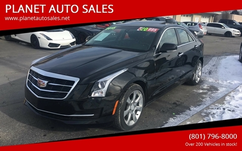 2015 Cadillac ATS for sale at PLANET AUTO SALES in Lindon UT