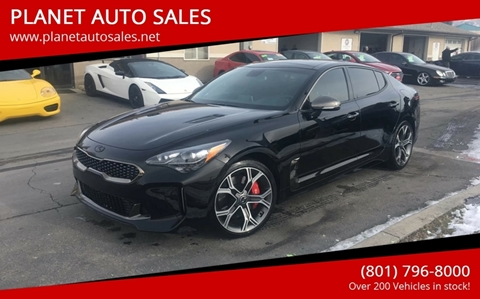 2018 Kia Stinger for sale at PLANET AUTO SALES in Lindon UT