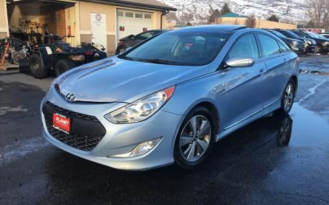 2012 Hyundai Sonata Hybrid for sale at PLANET AUTO SALES- Orem in Orem UT