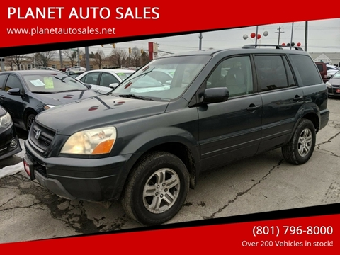 2004 Honda Pilot for sale at PLANET AUTO SALES in Lindon UT