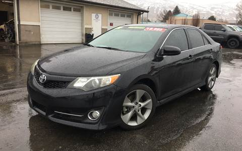 2012 Toyota Camry for sale at PLANET AUTO SALES- Orem in Orem UT