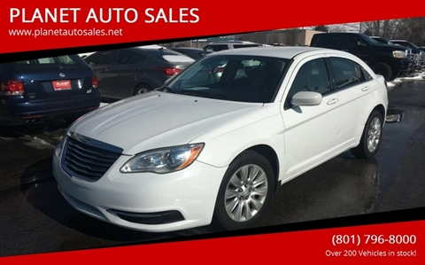 2012 Chrysler 200 for sale at PLANET AUTO SALES in Lindon UT