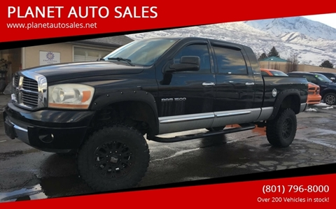 2006 Dodge Ram Pickup 1500 for sale at PLANET AUTO SALES in Lindon UT