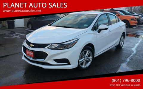 2018 Chevrolet Cruze for sale at PLANET AUTO SALES in Lindon UT