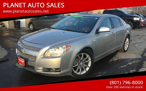 2008 Chevrolet Malibu for sale at PLANET AUTO SALES in Lindon UT