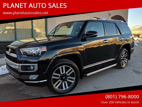 2016 Toyota 4Runner for sale at PLANET AUTO SALES- Orem in Orem UT