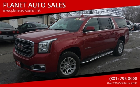 2015 GMC Yukon XL for sale at PLANET AUTO SALES- Orem in Orem UT