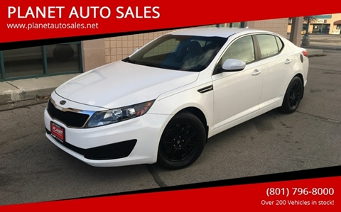 2011 Kia Optima for sale at PLANET AUTO SALES in Lindon UT