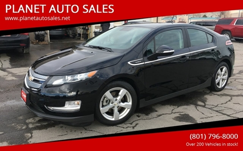 2015 Chevrolet Volt for sale at PLANET AUTO SALES in Lindon UT