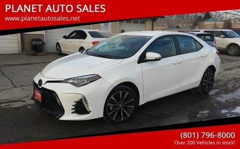 2017 Toyota Corolla for sale at PLANET AUTO SALES in Lindon UT