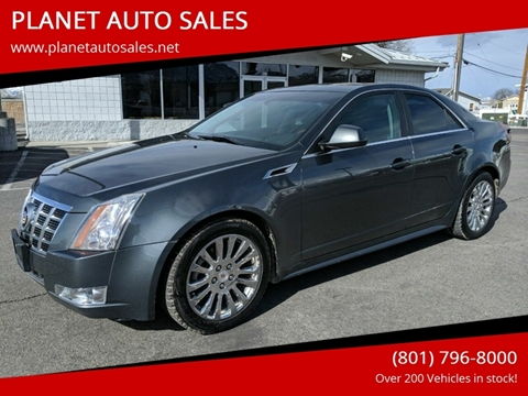 2012 Cadillac CTS for sale at PLANET AUTO SALES- Orem in Orem UT