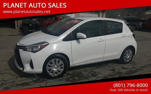 2015 Toyota Yaris for sale at PLANET AUTO SALES in Lindon UT