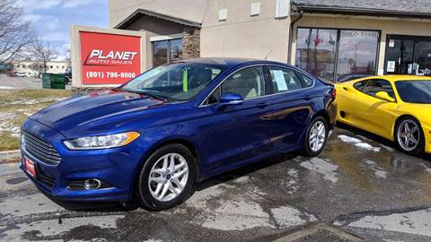 2014 Ford Fusion for sale at PLANET AUTO SALES- Orem in Orem UT
