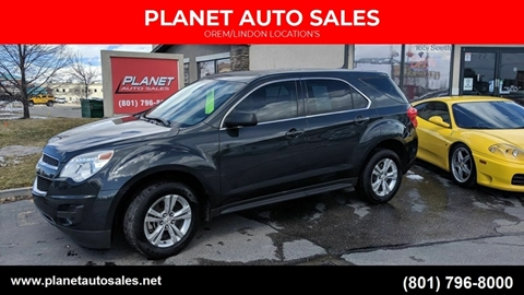 2014 Chevrolet Equinox for sale at PLANET AUTO SALES- Orem in Orem UT