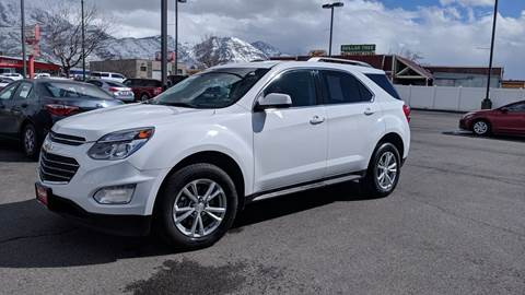 2017 Chevrolet Equinox for sale at PLANET AUTO SALES- Orem in Orem UT