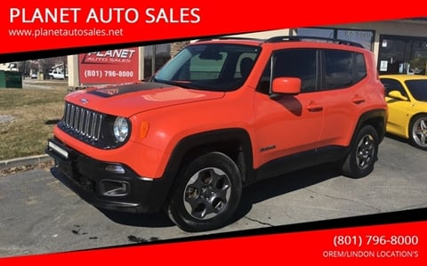 2016 Jeep Renegade for sale in Lindon, UT
