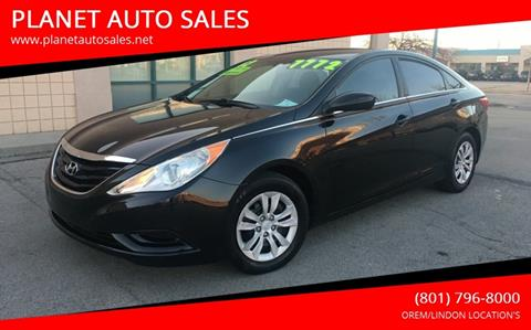 2012 Hyundai Sonata for sale at PLANET AUTO SALES in Lindon UT