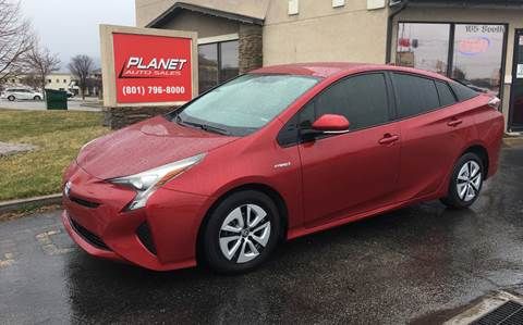 2016 Toyota Prius for sale in Lindon, UT