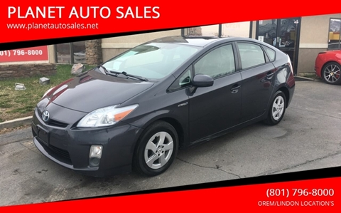2010 Toyota Prius for sale at PLANET AUTO SALES in Lindon UT
