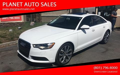 2013 Audi A6 for sale at PLANET AUTO SALES- Orem in Orem UT