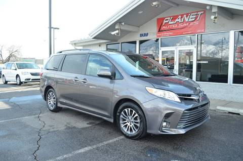 2018 Toyota Sienna for sale at PLANET AUTO SALES- Orem in Orem UT