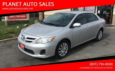 2012 Toyota Corolla for sale at PLANET AUTO SALES in Lindon UT