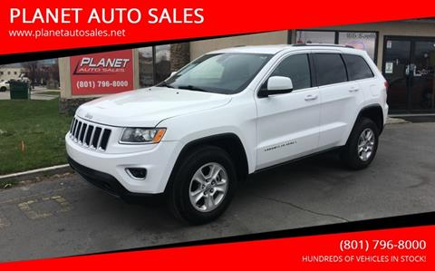 2015 Jeep Grand Cherokee for sale at PLANET AUTO SALES in Lindon UT