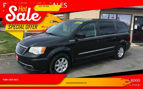 2012 Chrysler Town and Country for sale at PLANET AUTO SALES in Lindon UT