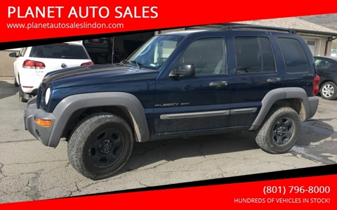 2002 Jeep Liberty for sale at PLANET AUTO SALES in Lindon UT