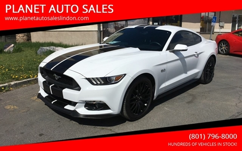 2017 Ford Mustang for sale at PLANET AUTO SALES- Orem in Orem UT